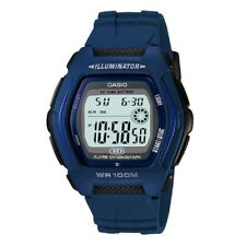 Casio HDD-600C-2AV Blue Illuminator Digital Sports Watch with Casio Box