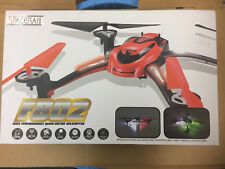 SpaceRail 4-Ch F802 2.4Ghz Remote Control Quad copter Drone Helicopter NEW