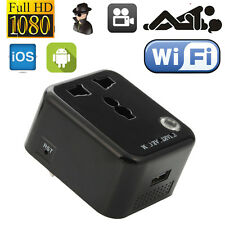 8GB WiFi Wall Charger Hidden Camera Adapter Adaptor Spy HD Recorder Covert Clock