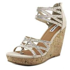 Suede Medium (B, M) Wedge Sandals & Flip Flops for Women