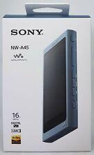 Sony NW-A45 High Resolution Walkman MP3 Player, 16 GB, Blue - Nip Dealer