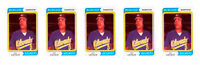 (5) 1992 SCD #7 Pat Listach Baseball Card Lot Milwaukee Brewers
