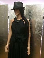 SOFT SURROUNDINGS Oasis Black Maxi Ivening Dress SZ PS-S