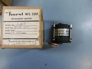 NIB Hurst LAS 3602-001 12 VDC 8W Instrument Motor