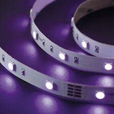 Function BlackLight LED Stripe Set 3m 21,6W 230/12V DC Weiß Kunststoff