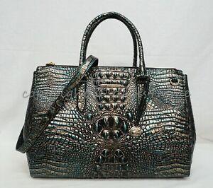 NWT Brahmin Blake Carryall XL Satchel/Shoulder Bag/Work Bag. Agate Melbourne