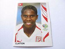 Sticker PANINI Fifa World Cup GERMANY 2006 N°571 Tunisie Clayton