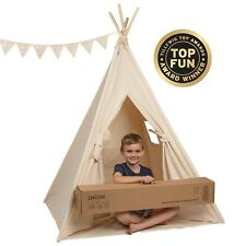 Teepee Play Tent for Kids by Canicove - Tipi for Boys and Girls - Award Winning