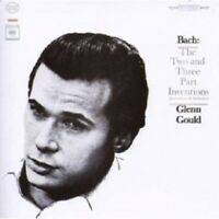 GLENN GOULD - JUB. ED.: BACH - INVENTIONEN BWV 772-801  CD 30 TRACKS PIANO NEW