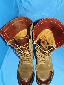FRYE WOMEN'S SIZE 9B 77941 OWEN BROWN SUEDE CREPE TALL LACE UP BOOT