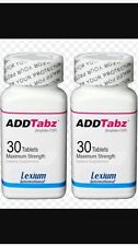 ADDTabz REFORMULATED (30 Count) Sale Is For 2 Bottles of ADDTABZ