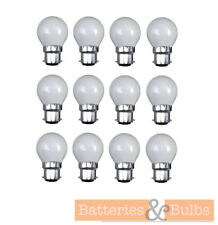 60w B22 BC Bayonet Opal Golf Traditional Dimmable Incandescent Light Bulb Lamps