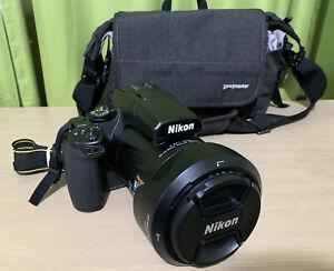 *LIKE NEW* Nikon Coolpix P1000 125x Zoom Digital Camera 4K UHD With Accessories