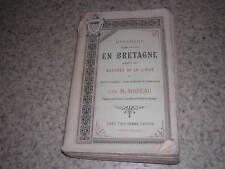1857.histoire Bretagne durant guerres de la ligue / Moreau.Cornouaille
