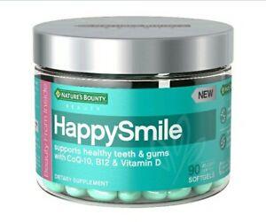 HappySmiles MULTI-Vitimine SoftGels Nature's  Bounty Healthy Teeth Gums Tongue *