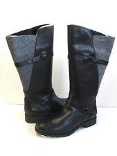 TEVA DE LA VINA WOOL WOMEN TALL BOOTS  BLACK US 7 /UK 5 /EU 38 /JP 24