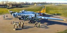 KEVIN WEBER WWII MILITARY AVIATION ART PRINT B-17 FLYING FORTRESS