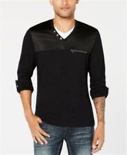 INC Twilight Shirt Deep Black Mens XL New