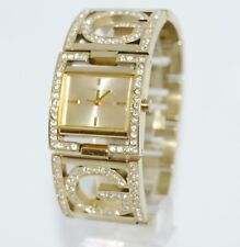 GUESS WOMEN'S GOLD TONE WATCH WITH RHINESTONE ACCENTS U13530L1