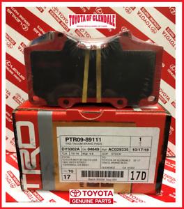 TOYOTA 4RUNNER FJ CRUISER SEQUOIA TACOMA FRONT TRD BRAKE PADS GEN PTR09-89111
