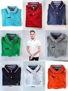 NWT Mens Tommy Hilfiger Short Sleeve Polo Shirt
