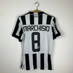 JUVENTUS HOME FOOTBALL SHIRT 2014/2015 #MARCHISIO SOCCER JERSEY NIKE SIZE M