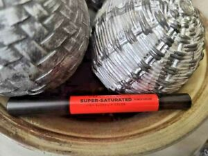 "Urban Decay Super-Saturated High Gloss Lip Color ""Punch Drunk (dark orange) NIB!"