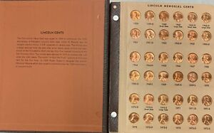 Dansco Album 1959-2011  Lincoln Memorial Cent Including Proofs Only Issue