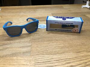 Babiators Blue Sunglasses Ages 3-5 Baby Glasses 100% UV Protection