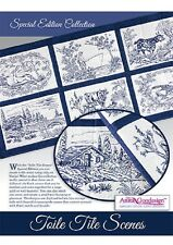 Anita Goodesign Embroidery Machine Design CD TOILE TILE SCENES SPECIAL EDITION