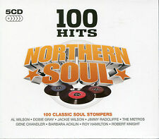 100 HITS NORTHERN SOUL - 5 CD BOX SET - AL WILSON, DOBIE GRAY & MORE