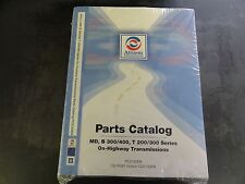 Allison Transmission MD B 300/400 T200/300 Series Parts Catalog