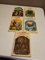 CS Lewis Vintage Paperback Book Lot of 5 1970s Science Fiction EUC