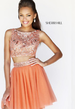 Sherri Hill Short High Neck Two Piece Party Dress 11061 Prom Homecoming Formal 4
