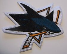 "San Jose Sharks Embroidered Patch~3 1/2"" x  3 1/4""~Iron Sew On~NHL~Ships FREE"