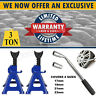 3Ton Axle Stands Lifting Capacity Stand Heavy Duty Car Caravan Floor Jack/Wrench