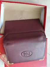 Cartier (Cartier) red wallet card holder ! ! ! !