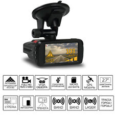 Car dvrs Camera Video Recorder HD Anti Radar Detector Alarm Vehicle GPS Tracker