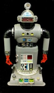VINTAGE IDEAL TOY CORP 1968 - ELECTRONIC ROBOT ZEROIDS ZINTAR