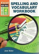 Spelling and Vocabulary Workbook: English Year 4 by Jane Baker (Paperback, 2007)