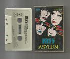 KISS Asylum, cassette tape, 1985, VG