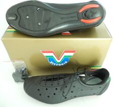 P DE CHAUSSURES CYCLISTE VITTORIA 1976 CLASSIC CYCLO VINTAGE 47 - LEATHER SHOES