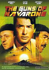 The Guns of Navarone (1961) - Gregory Peck, David Niven - DVD NEW