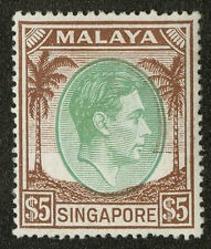 Singapore   1951  Scott # 20a  Mint Lightly Hinged
