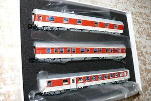 HS L.S. Models 79 055 Wagenset 3 teilig  CNL Pegasus  DB AG Ep VI 874 cm Spur N