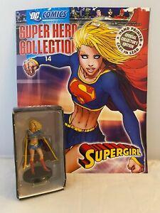 Eaglemoss #14 Supergirl Collectible Book + Lead Figure 2008