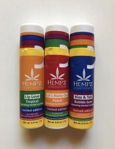 Hempz Limited Edition Lip Balm Set