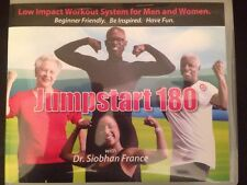 Jump Start 180 Dr. Siobhan France Low Impact Workout System Dvds