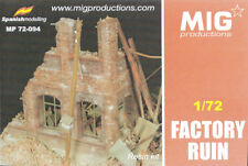 "Mig Productions item, ""Factory ruin"" ref.72-094:"