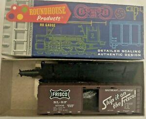 HO scale Roundhouse Frisco   40'   Box Car SL-SF  27006 vintage